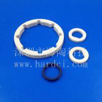 氧化铝陶瓷环定做耐磨密封陶瓷圆环加工机械专用陶瓷套