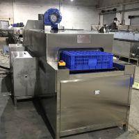 东莞食品配送用洗筐机 先泰全自动高压喷淋除油清洗机厂家