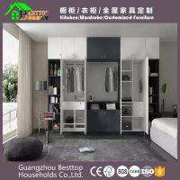 板式家具广州工厂整体定制家庭小户型板式衣柜电视柜鞋柜酒柜定制