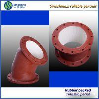 厂家直销耐磨管件 陶瓷耐磨弯头管件 不锈钢大口径弯头