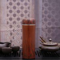 淘宝热卖木纹紫砂保温杯时尚商务水杯定制礼品杯办公茶杯现货供应