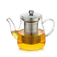 耐高温防爆玻璃茶壶家用简约加热过滤水壶耐热泡茶壶茶具茶杯套装