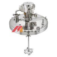 台湾宝丽RB-TP搅拌器桶盖式涂料搅拌机气动油漆搅拌器油墨搅拌