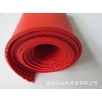 厂家供应加厚无底发泡皮革 马具 宠物  项圈地垫 PVC人造革