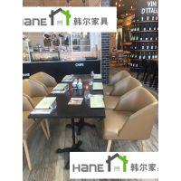 供应上海音乐餐厅桌椅 音乐餐厅桌子椅子工厂 韩尔LOFT品牌