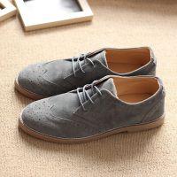 一件代发布洛克鞋子男士休闲鞋男春季潮鞋英伦男鞋韩版潮流复古翻