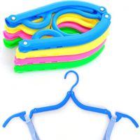 出差便携防滑 旅行衣架 旅游魔术衣架 彩色塑料外贸爆款生活用品