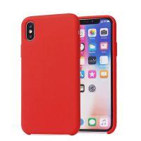 东莞久多缘苹果iPhone X XS Max XR液态硅胶真超纤三包手机保护套手机壳 高档出口品质