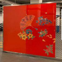 图案UV打印铝单板_3D打印铝单板价格_装饰铝板规格设计安装