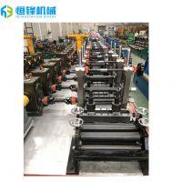 恒锋厂家热销精密型制管机 不锈钢钢管制管机组 排管烟囱焊管设备