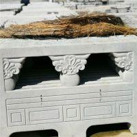 上海厂家直销河道仿石护栏景观栏杆 水泥仿大理石护栏 河堤石材栏杆