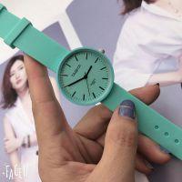 厂家现货批发TAQIYA手表 新款硅胶表带女表女士手表学生薄荷绿