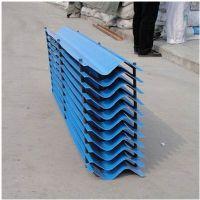 蓝色PVC拉挤收水器 S波挡水板 冷却塔进风窗 品牌华庆