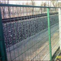 【护栏网】公路铁路交通安全铁丝防护网 农业圈地双边丝护栏网 框架防护网