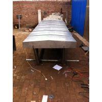 定做福建机床立式线性导轨加工中心钢板防护罩