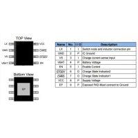 供应嘉泰姆驱动IC CXLB7258高集成度2A开关模式锂离子电池充电器