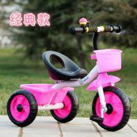厂家直销一件代发批发可坐新款儿童三轮车三轮脚蹬车童车