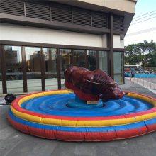 广场新款成人儿童娱乐项目西班牙疯狂斗牛机成人翻转骑牛机