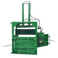 废纸液压打包机 废海绵压缩压块机 立式液压打包机价格