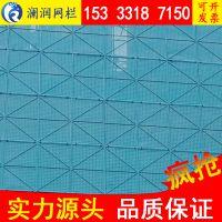 爬架外力网 爬架铝网 整体式钢网爬架 爬架孔板网