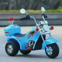 哈雷儿童电动车摩托车电动三轮车男女宝宝玩具车电瓶车一件代发