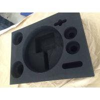 EVA异形挖槽内托泡棉包装制品 雕刻EVA植绒防震内托海绵厂家定做包装海绵