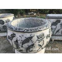 石头制作养鱼盆图片大全 山东石雕金鱼缸多少钱一件