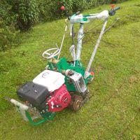 汽油草坪起草机 Gx270收草机 两个后轮起草皮机 正宗本田铲草机