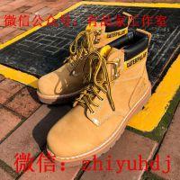供应中山CAT卡特经典款踢不烂工装大黄靴工厂直销一手货源