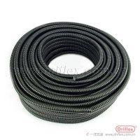 现货DN20防水阻燃包塑金属软管PVC包塑电线护套管穿线蛇皮波纹管