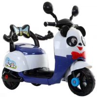 厂家直销 熊猫 大白 儿童电动摩托车