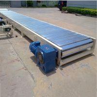 水平板链输送机运输平稳 链板式输送机视频加工厂家桂林