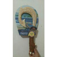 现货海洋奇缘 毛伊的魔法武器 鱼钩刀 Moana光剑玩具灯光主题曲