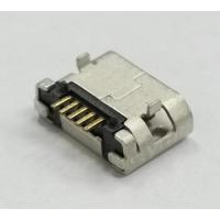 MICRO USB 5P 5.9带柱带焊盘直边