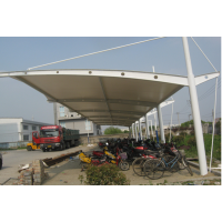 淡水停车棚厂家|电动车充电桩停车棚|自行车停车棚价格