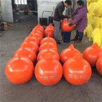 山岔水库警戒线浮球尼龙绳连接塑料浮球价格