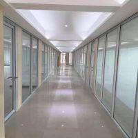 仓库学校玻璃隔墙高隔断