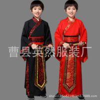 男童民族古装小学生三字经弟子规服装孔子服古代儿童汉服国学服