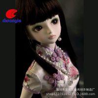 中国风换装公仔 古典芭比玩具厂家定制SD活动关节人偶bjd娃娃