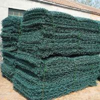 包塑石笼网的参数|铅丝笼10-12|格宾网8-10|雷诺护垫7-9mm河北泰成网业