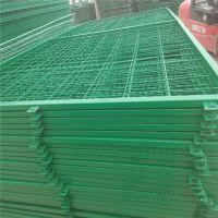 绿色铁丝网厂 框架围栏护栏网现货 高速公路防护栏