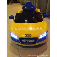 批发儿童电动汽车儿童仿真电动车可坐四轮小孩玩具车童车