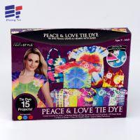 衣服丝巾礼品彩盒  精美创意折叠牛皮纸儿童服饰包装盒子工厂定做