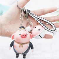 DY-203搪胶猪八戒钥匙扣孙悟空小挂件美猴王西游记人物创意小礼品