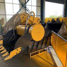 厂家直销挖掘机破碎斗 鄂式粉碎斗 建筑垃圾破碎机