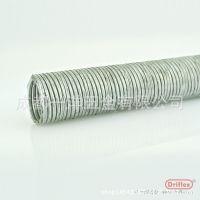不锈钢带普利卡管 预埋穿线专用  LN-4B型号电气套管 河南厂家