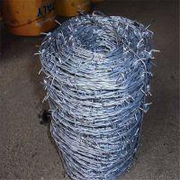 热镀锌刺绳 正反拧铁线 双股刺线