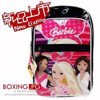 数码彩印防水光胶外贸迪士尼公主 书包 Disney芭比娃娃双肩背包