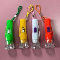 新款迷你水晶小电筒,便捷旅行手电筒,强光亮光电筒一元两元货源
