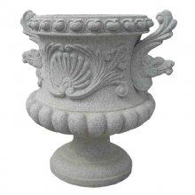 现代工艺手绘花钵 质量优于树脂花钵 壁厚光面花钵花盆花槽加工价格优惠